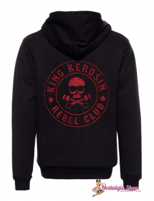KK Sweatjacke Rebel Club mit Softshell-Innenfutter